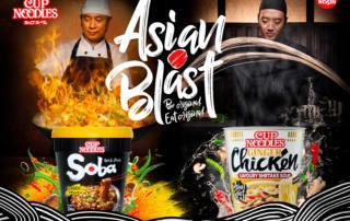 Nissin Asian Blast